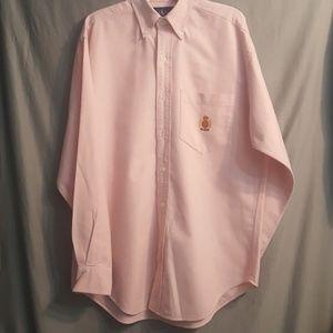 RALPH LAUREN pink button down shirt   6